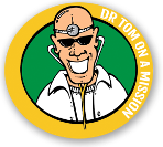 Logo for Dr Tom on a mission
