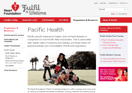 Pacific Health - Heart Foundation